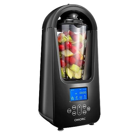omorc licuadora al vacío 800 W batidora para Smoothies licuadora mezclador vacío frutas y Legumes material ...