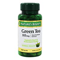 Nature's Bounty Green Tea Pills and Herbal Health Supplement, Supports Heart and...