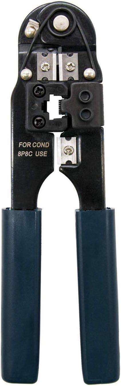 NANOCABLE 10.31.0101 - Tenaza Metalica de crimpar para Conector RJ45