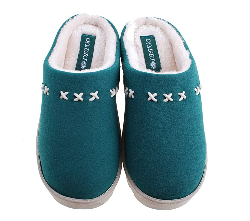 Colorfulworldstore Matte Leather/&Cotton Snow Boots//Home Slippers//Men/&Womens House shoes-7colors for Man/&Womens