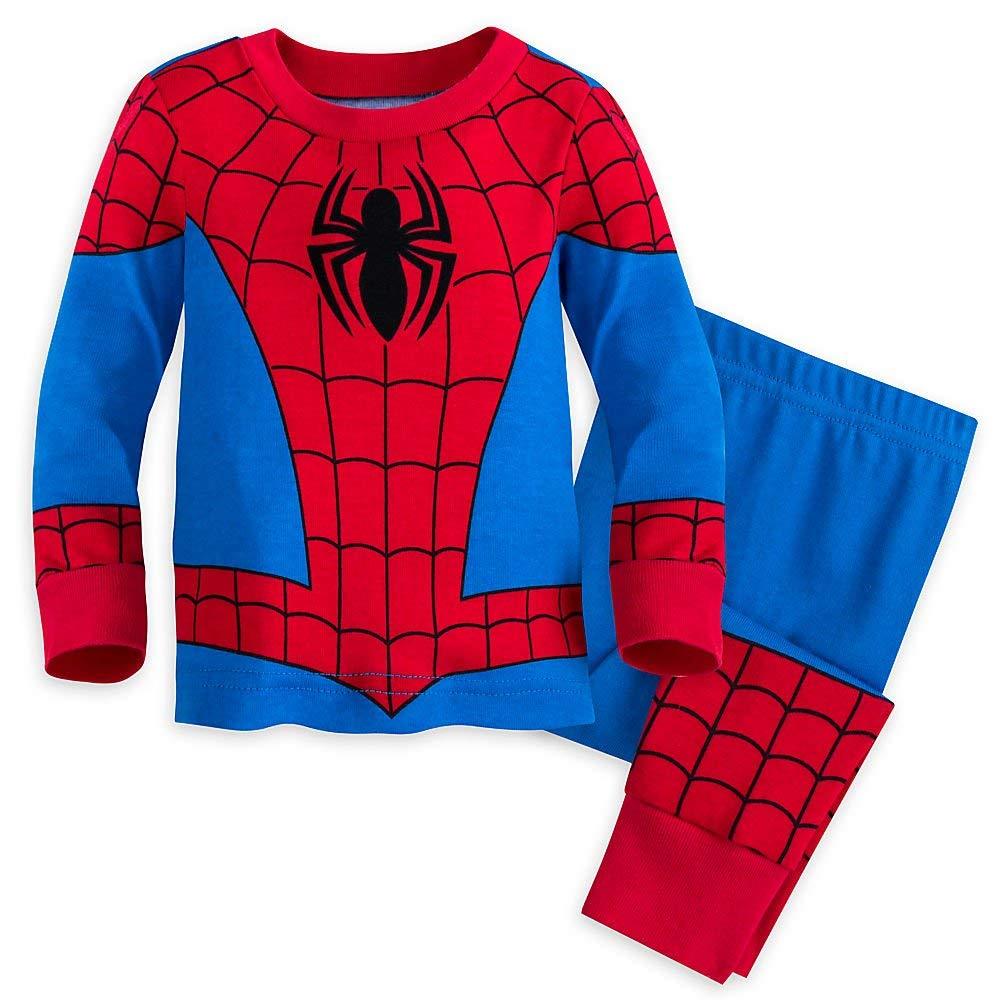 Marvel Spider-Man Costume PJ PALS for Boys Multi