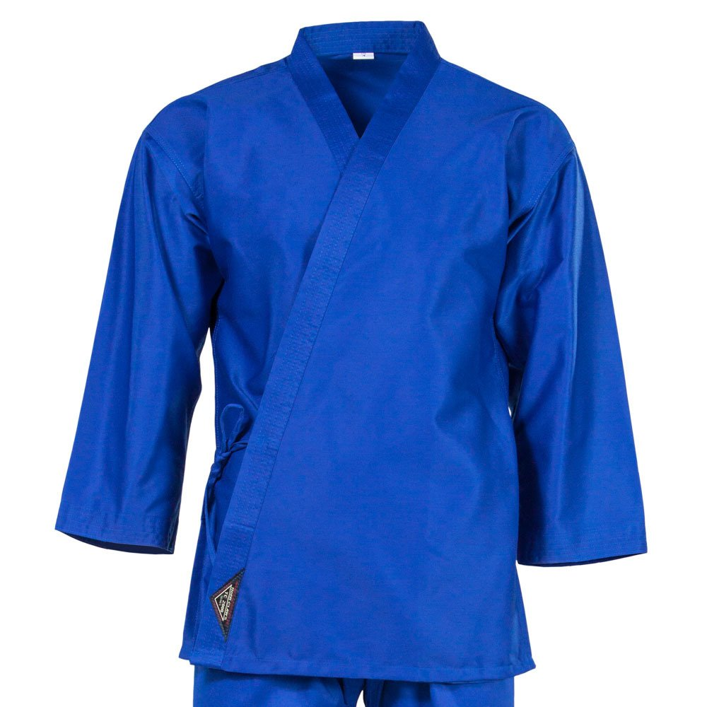 Tiger Claw 7.5 Oz Karate Uniform Light Weight Blue Top Only (00) by Tiger Claw