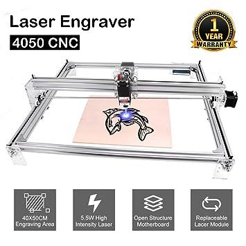 Máquina de grabado láser CNC Yofuly 5500mw, grabador USB de ...