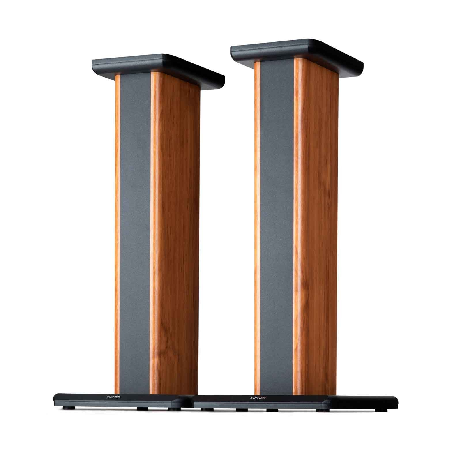 Edifier S2000PRO Wood Grain Speaker Stands Enhanced Audio Listening Experience For Home Theaters by Edifier