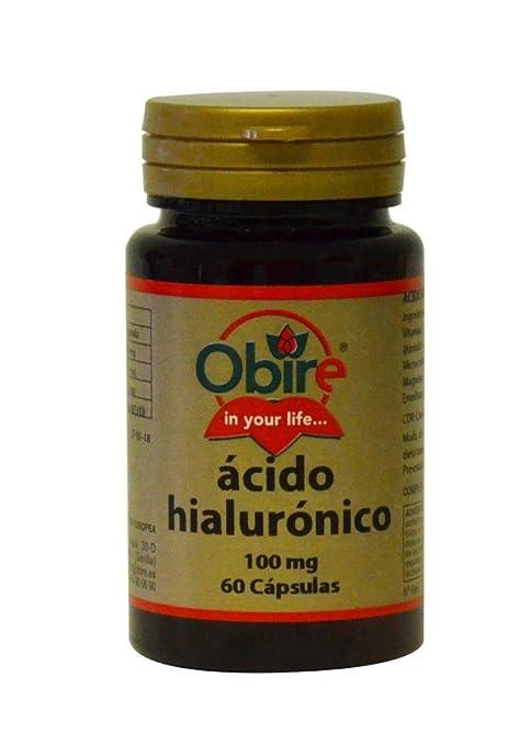 ACIDO HIALURÓNICO 100 mg 60 cápsulas