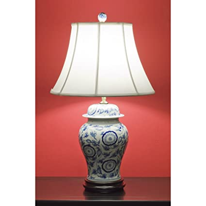Amazon Com Chinafurnitureonline Blue And White Porcelain