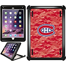 OtterBox iPad Air 2 Black Defender Series Case with Montreal Canadiens Digi Camo Color Design by Coveroo