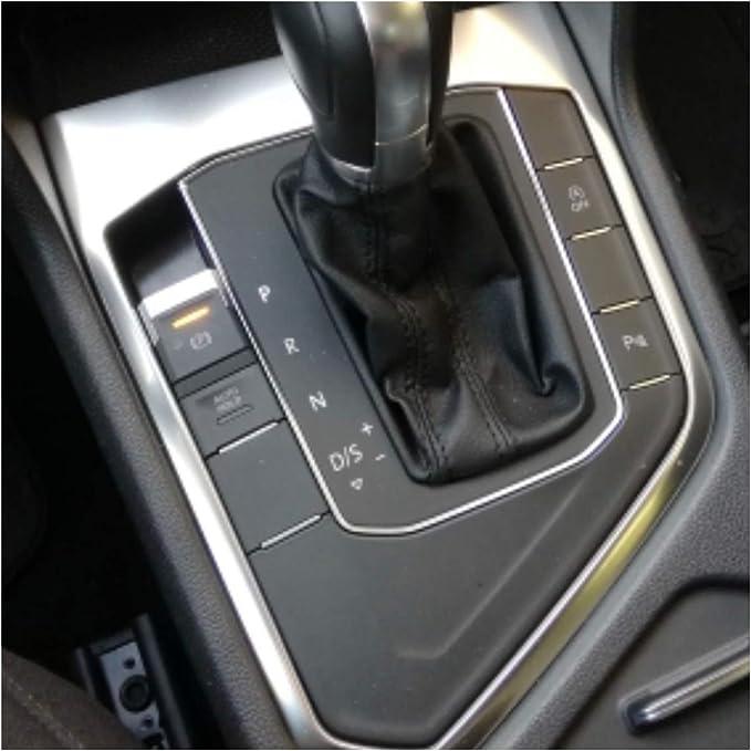 Emblem Trading Mittelkonsole Schaltknauf Rahmen Blende Abdeckung Armaturenbrett Verkleidung Passend Für Tiguan 2 Ad1 Ab 2016 Auto
