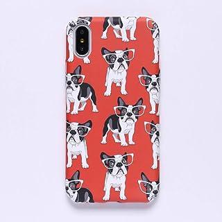 ERQINGT Etui pour Téléphone Portable Cas Drôle De Téléphone De Bande Dessinée Claire pour L'Iphone 7 7Plus 6 6S 6Plus 8 8Plus X