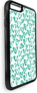 hearts Printed Case for iPhone 6 Plus