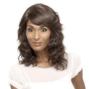 Vivica A Fox Hair Collection Diva-Remi Human Hair Natural Wig, Natural, 8.7 Ounce