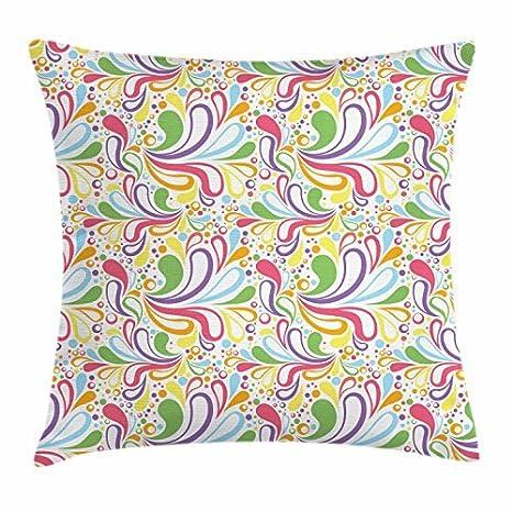 Colorful manta almohada Funda para cojín, diseño de ...