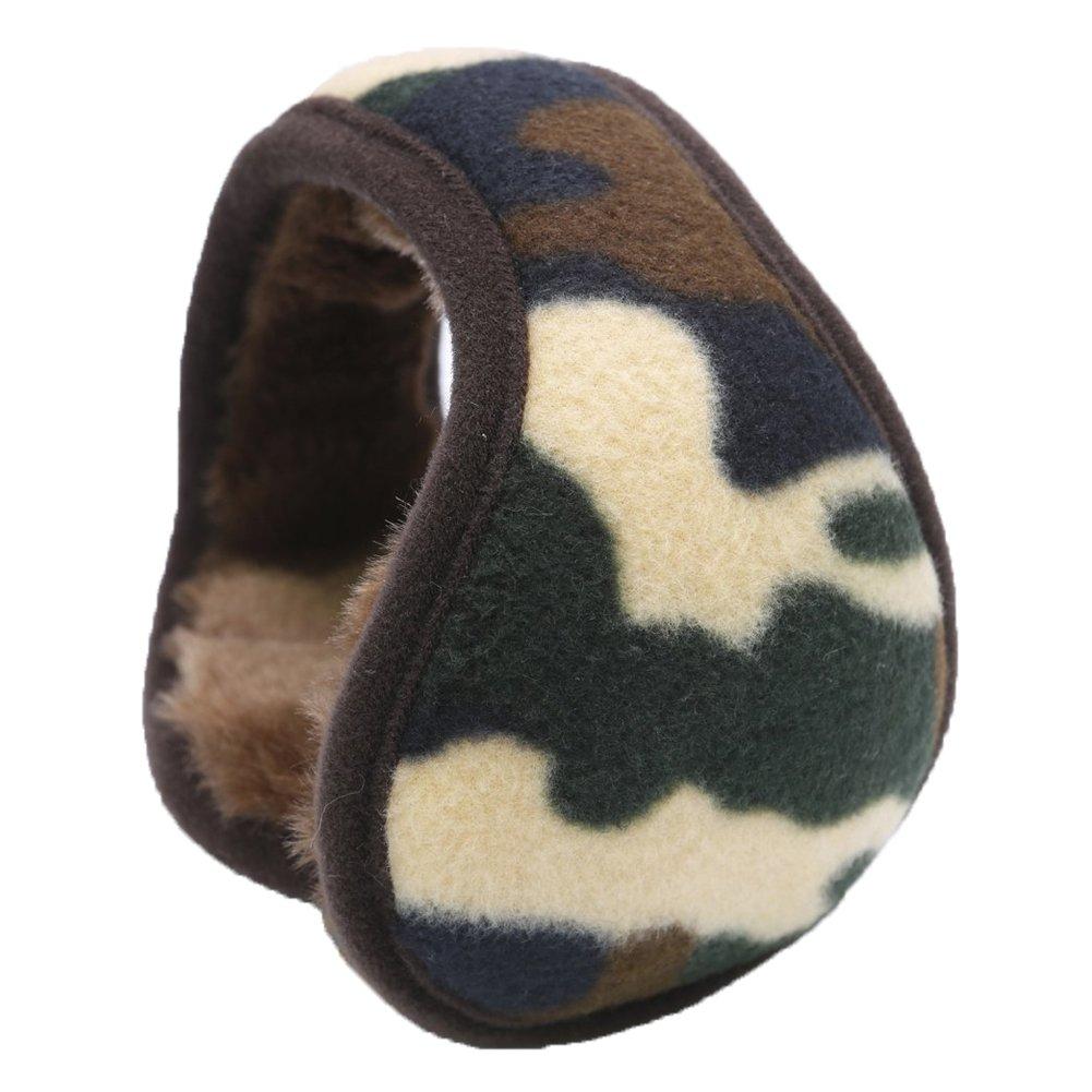 Paraorecchi Warm-U, elegante e comodo, che si indossa dietro la testa, tascabile, in filo di lana, m...