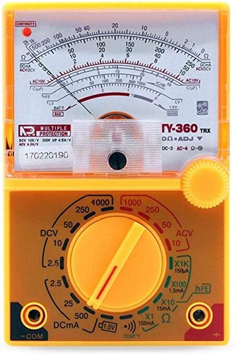 BYFRI DC/AC 1000v Voltímetro del Amperímetro 500 Ma ...