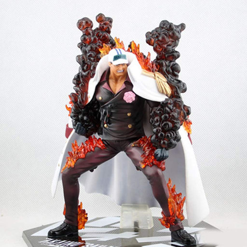 A Llsdls Anime Character Model Decoration Model Decoration Decoration Gift One Piece Character Model Battle Version Model (color   A)