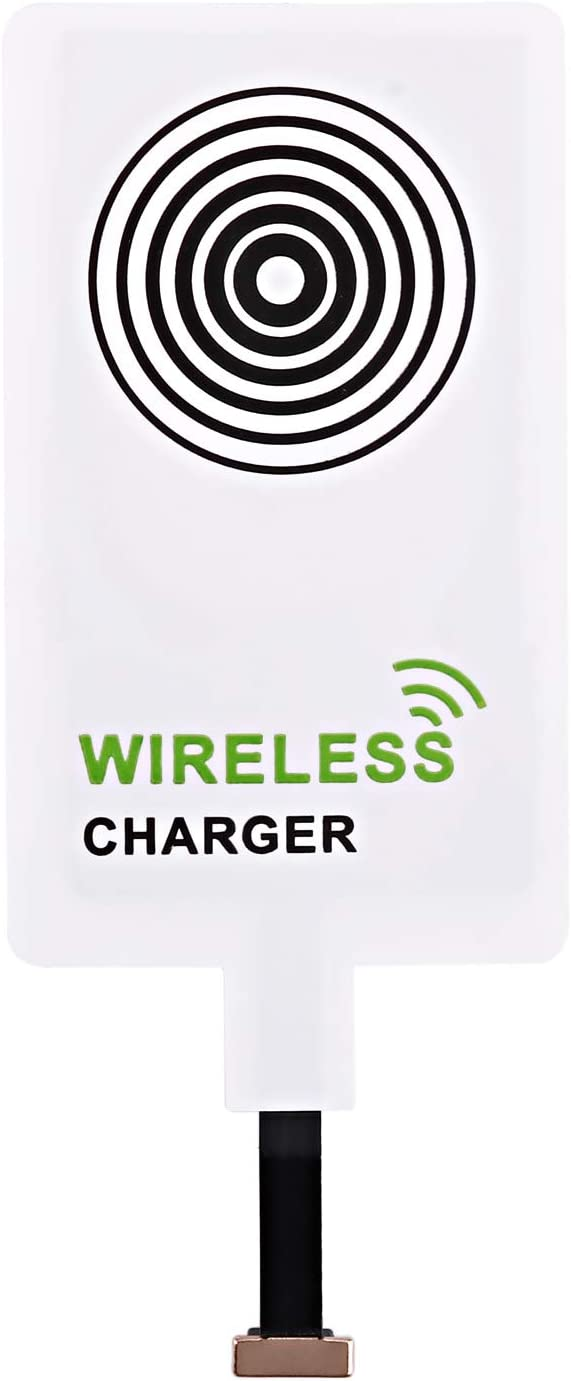 beautyshow Wireless Charging Qi Receiver, Wireless Charger Adapter Fast Charging for Samsung Galaxy, Sony, LG, MEIZU, All Android Phone & Devices with