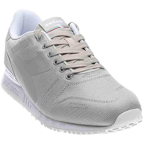 24f98fe02ae Diadora Mens Titan Fly Athletic   Sneakers Grey