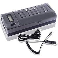 Carregador de bateria universal, carregador individual inteligente de LCD para pilhas AA AAA C D 9V Ni-MH Ni-CD…
