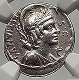 i62464Authentic Ancient Coin of:Roman Republic M. Plaetorius M. f. Cestianus moneyerSilver Denarius 18mm Rome mint, struck circa 67 B.C. Special aedilician issue.Reference: Plaetoria 4 B.M.C. 3596 Syd. 809 Craw. 409/1Certification: NGC Ancien...