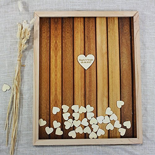 guest book wood - 7