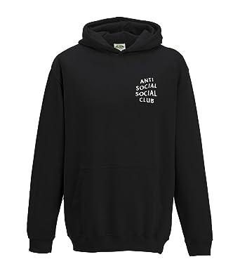 8f9d4273de5a Juko Kids Anti Social Social Club Kanye West ASSC Hoodie.  Amazon.co.uk   Clothing