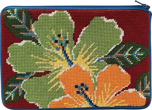 Stitch & Zip Needlepoint Cosmetic Purse Kit- Bright -
