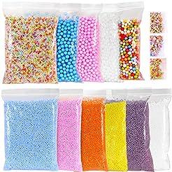 Ohuhu Foam Balls for DIY Slime, 14 Packs...