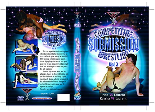 French mixed wrestling - Competitive submission wrestling vol.2 (Female vs Male) DVD Amazon's Prod