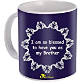 SKYTRENDS Ceramic Printed Coffee Mug for Sister and Brother