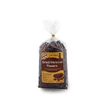 Amazoncom Dried Hibiscus Flower 8 Ounce Grocery Gourmet Food