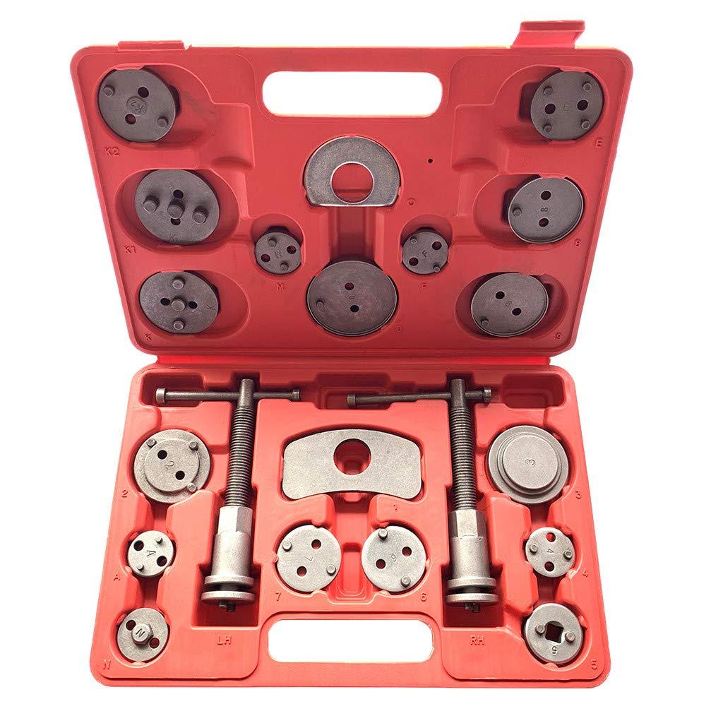 Vithconl Universal-21PCS New Brake Caliper Piston Disc Rewind Back Tool Set Pads Pro (Ship from US)