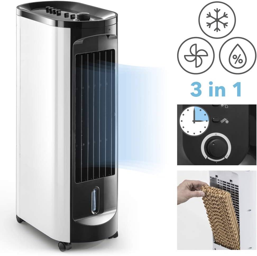 TROTEC Climatizador Portátil Frío PAE 10 / Ventilador de Torre / 3 ...