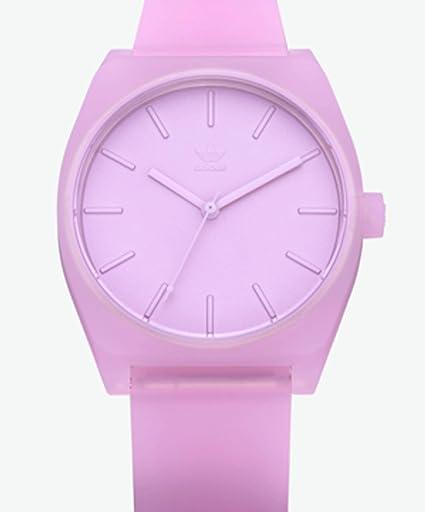 adidas Relojes Hombres Accesorios/Proceso de Reloj (1%) Rosa Tamaño Estándar: Amazon.es: Relojes