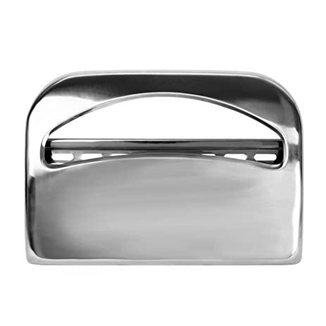 16 inch toilet seat. Excellante Half Fold Toilet Seat Cover Dispenser  Chrome 16 Inch By 11 1 Amazon Com