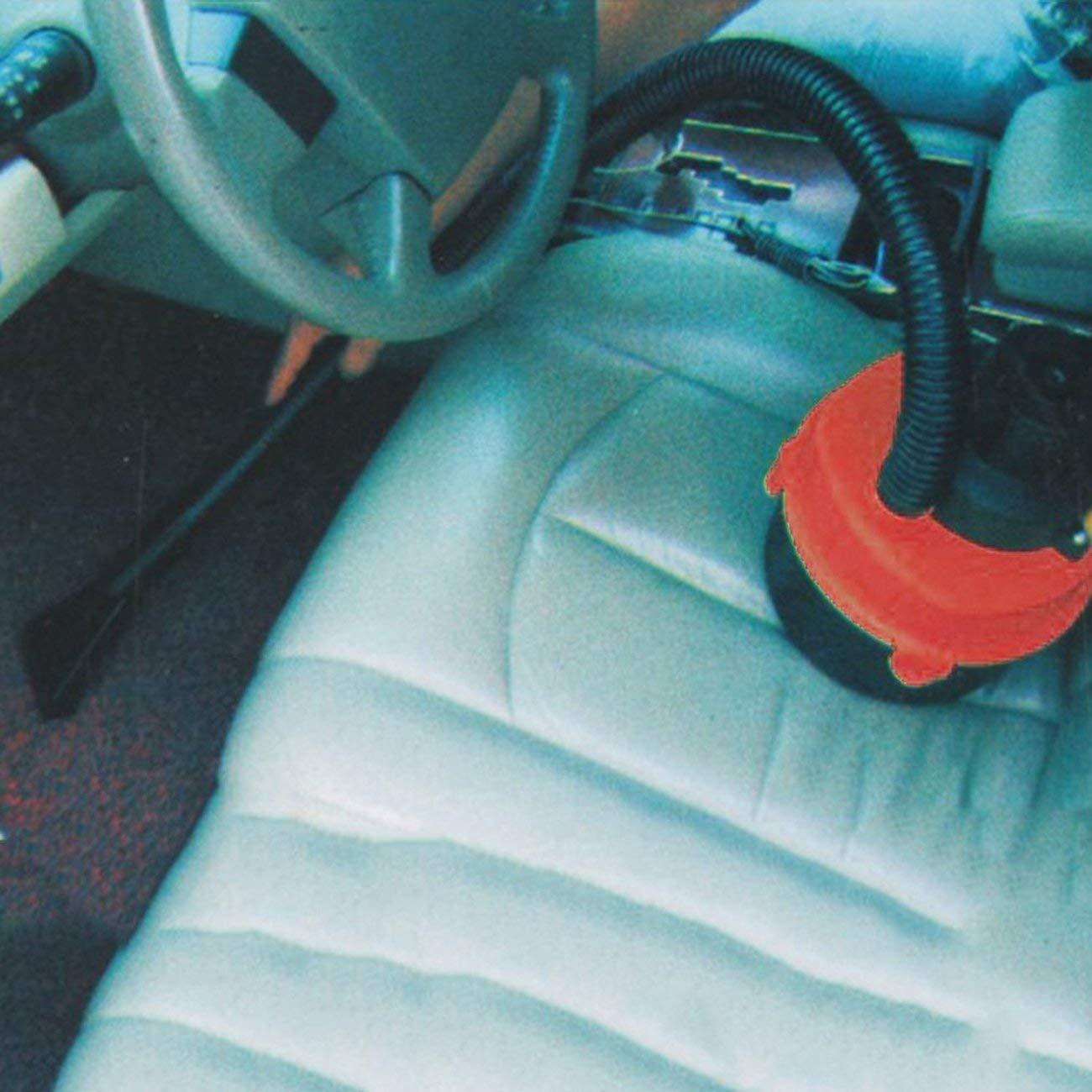 black /& red Kompakte Gr/ö/ße Dual-Use-Leistungsf/ähiger Mini Auto Auto-Staubsauger Wet//Dry DC 12 Volt einfach und stressfreien Reinigungsprozess