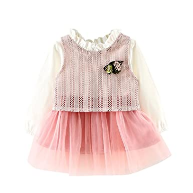 Vestido para bebé niña, Yannerr recien nacido invierno ...