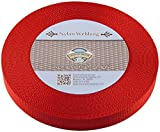 Country Brook Design | Red Heavy Nylon Webbing (1 inch, 10 yards)