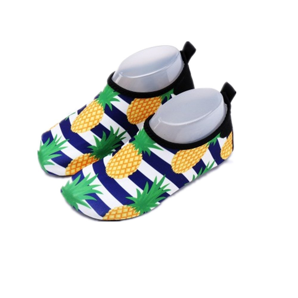 eleganceoo Lightweight Kids Water Shoes Quick Drying Socks for Pool Beach