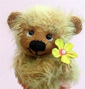 Amazon.de: JEM Cute Teddybär Mohair Soft Spielzeug Nähset und Muster