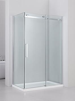 Yellowshop - Cabine de douche avec porte coulissante réversible en ...