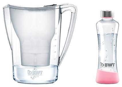 BWT 815045 Penguin Tischwasserfilter 2,7l blanco y el magnesio gefiltertes Mineralizer de 120l de