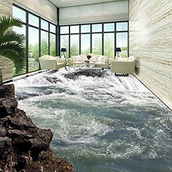 mznm Gras Wasserfälle Fließendes Wasser erzeugt Fluss 3D ...