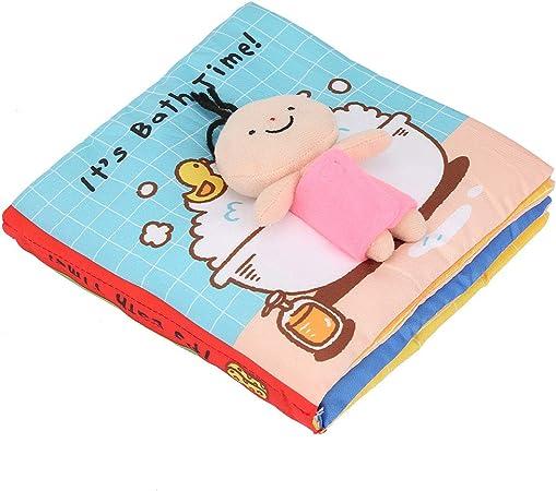 Amazon 強いステッチ面白いソフトブック クリンクルクロスブック クロス開発ブック 子供向けギフト耐久性のあるおもちゃ赤ちゃん7 08 7 08 1 18in スロープトイ おもちゃ