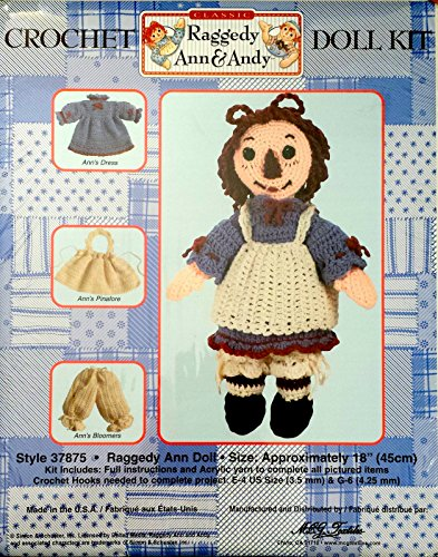 Crochet Rag - Raggedy Ann Crochet Doll Kit