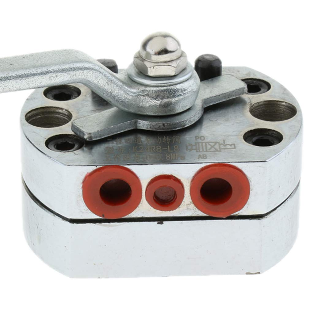 Flameer DN8 High Pressure Ball Valves Carbon Steel G1/4inch by Flameer (Image #5)