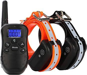 2-Pack Etpet Dog Training Shock Collar