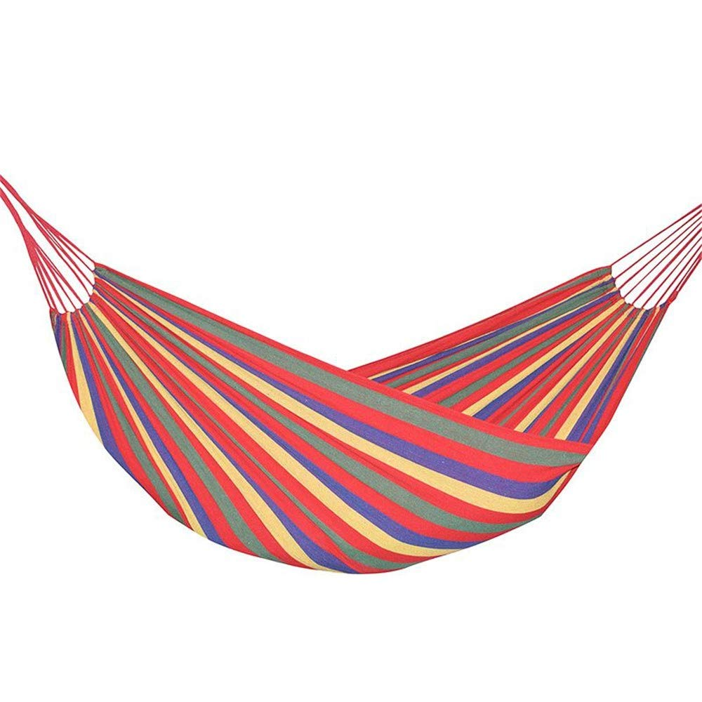 IN THE DISTANCE Camping Hammock2 Person Hammock 240  150Cm Hamac Outdoor Leisure Bed Letto Appeso Double Sleeping Tela Altalena Amaca Camping Caccia 2 colore, B