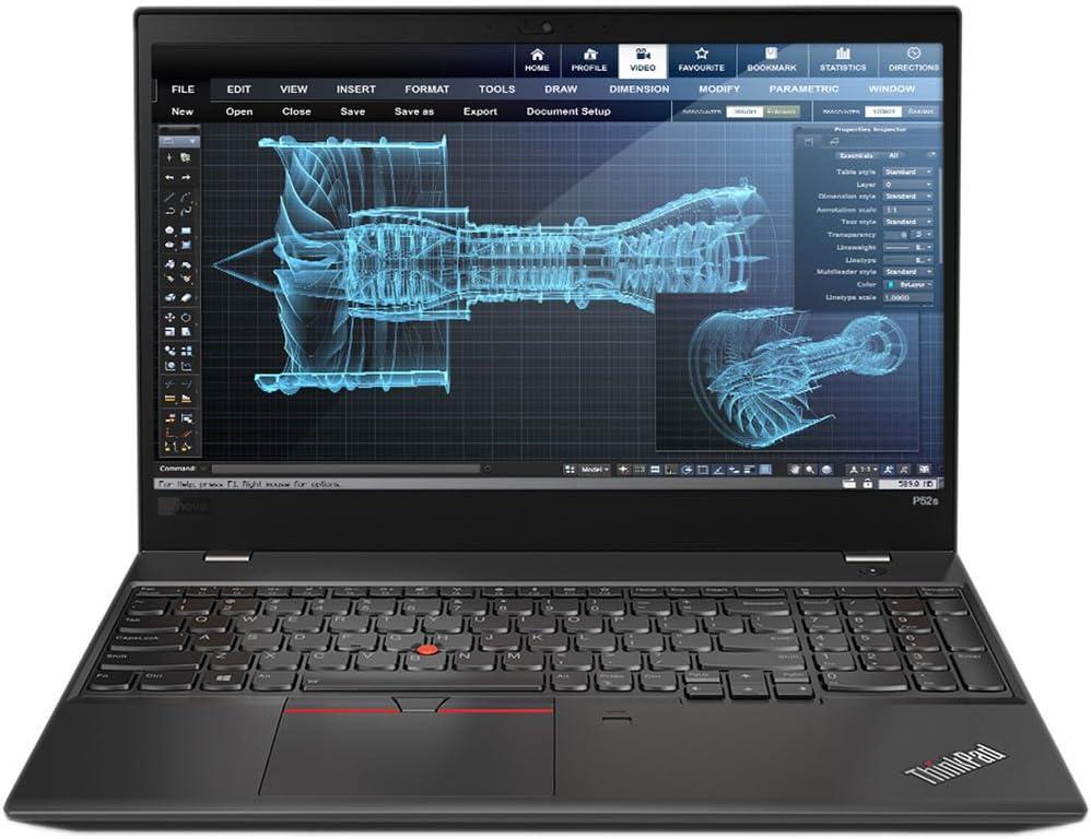 Lenovo ThinkPad P52s Mobile Workstation Ultrabook Laptop (Intel 8th Gen i7-8550U 4-core, 32GB RAM, 512GB SSD, 15.6