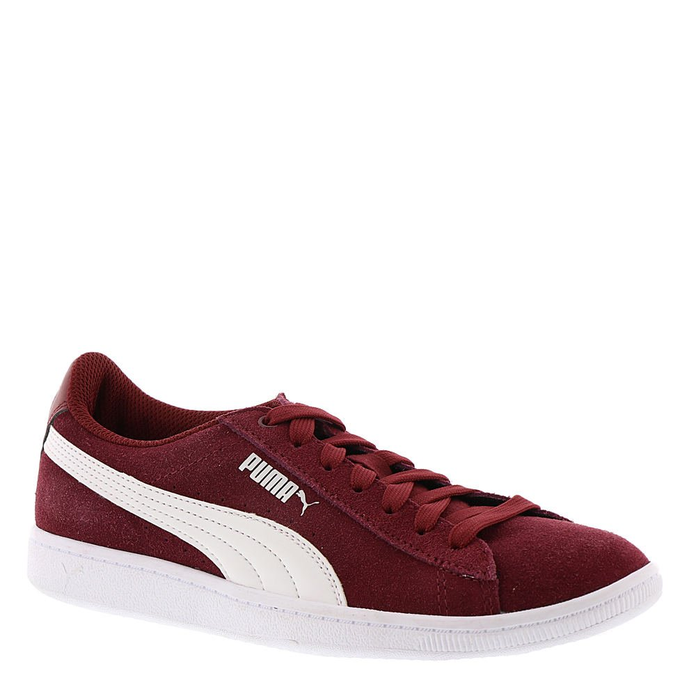 PUMA Women's Vikky Sneaker, Pomegranate White, 7 M US
