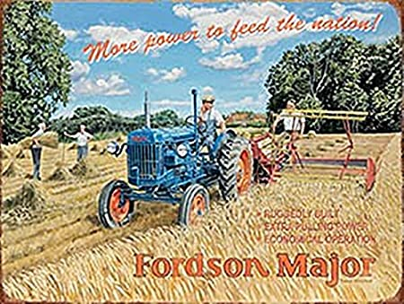 Fordson Major más Potencia acero imán para nevera (og): Amazon.es ...
